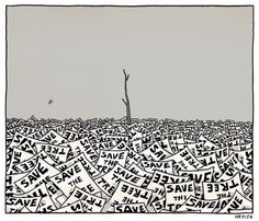 Go paperless & save trees