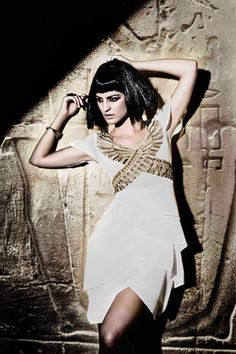 Zaeem Jamal presents stunning Ancient Egyptian collection at Rivaage » La Moda Dubai fashion website