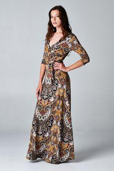 Michaela Dress on Emma Stine Limited Boho Outfits, Pretty Outfits, Pretty Dresses, Beautiful Dresses, Diy Dress, Wrap Dress, Fashion Beauty, Womens Fashion, Fashion Pictures