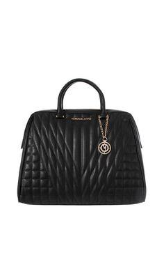Handväska Linea Nappa Matelasse BLACK - Versace Jeans - Designers - Raglady