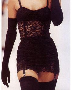 WEBSTA @ virgomood - Karen Mulder, Dolce and Gabbana 1991