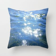 sparkling moments of life Throw Pillow by Marianna Tankelevich - $20.00