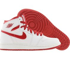 Air Jordan 1 Retro High (white / varsity red) 332558-161 - $79.99