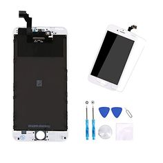 Coobetter LCD Screen Digitizer + Full Assembly Touch Screen for Repairing iPhone 6 Plus Screen with Free Repair Tools Set and Tempered Glass Protector  http://topcellulardeals.com/product/coobetter-lcd-screen-digitizer-full-assembly-touch-screen-for-repairing-iphone-6-plus-screen-with-free-repair-tools-set-and-tempered-glass-protector/  √ Compatibility: Only for iPhone 6 Plus (5.5″), not for 6s or 6S Plus. √ Application: To repair your damaged, faulty, shattered, or