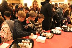 Check out these images from our recent Family Festival concert with our fun pre-concert activities including our musical petting zoo, meet a musician corner and music from a quartet from the Young Artists Symphony. Plus some concert shots with Wolfgang Amadeus Mozart complete with cupcakes following the performance!