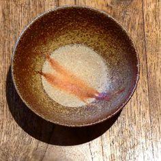 ジェイムス・イラズムス ご飯茶碗。お米がより美味しく食べられそうです。 #ジェイムス・イラズムス #織部下北沢店 #備前 #clay #craft #handmade #oribe