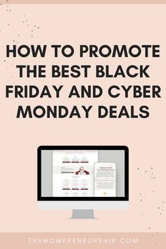 You are an affiliate of programs you use and like but don't know how to promote them so they sell them self? Here is a great solution for you! #blackfriday #cybermonday #elementor #wordpress #bloggingtips #businesstips Page Template, Templates, Best Black Friday, Cyber Monday Deals, Love To Shop, Holiday Sales, Business Tips, Ecommerce, Promotion