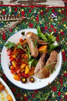 Citrus Rosemary Roast Pheasant | recipe on MarlaMeridith.com