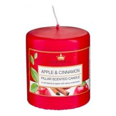 We have a great range of Home Fragrance products, from candles and reed diffusers to scented oils and incense sticks.  All in seasonal fragrances or traditional favourites such as French Vanilla.  Our Apple and Cinnamon Pillar Candle smells delicious and offers amazing value with an approximate burn time of 40 hours.  Approx. size 8cms (H) x 7cms (D).