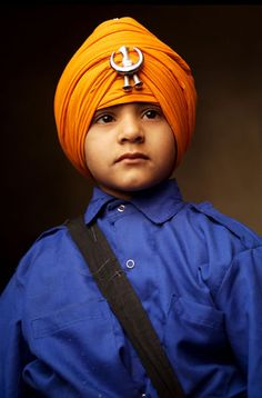 A young Sikh celebrates the birthday by Charles Meacham (Taipei, Taiwan)