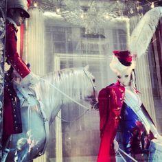 Bergdorf Christmas Window 2013 in NYC