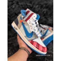 aa5522471ba6 Piet Parra X Off White NRG X Nike Air Jordan 1 Originals Sports Sneakers  Multi-Colors Best