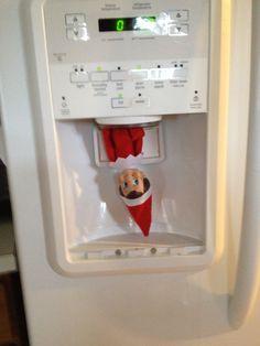 Elf on the Shelf Ideas for Teenage Girls.  Hi ... i'm Lucas!