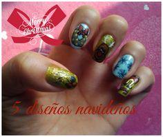 Aqui no se habla de Contabilidad: 5 Diseños Navideños para tus uñas!
