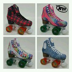 Patins de rua rye Roller Derby, Roller Disco, Roller Skating, Ice Skating, Skate 3, Skate Girl, Skate Style, Diva Fashion, Retro Fashion