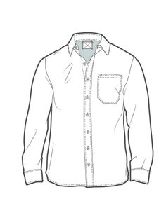 camisa Flat Drawings, Flat Sketches, Dress Design Sketches, Fashion Design Sketches, Shirt Sketch, Clothing Sketches, Drawing Clothes, Mannequins, Denim Shirt