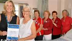 Lions in Australia help hospital with healthy donation