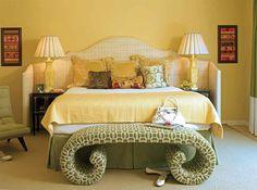 Gele Muur Slaapkamer : Beste afbeeldingen van gele slaapkamers bedroom yellow