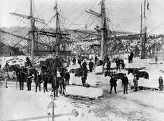 Oslo før: Før strømmen kom, tjente nordmenn seg rike på is - Aftenposten