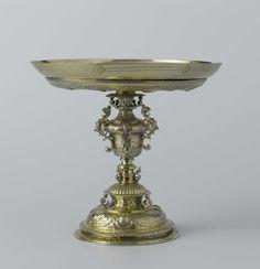 *Drinkschaal met allegorieën op de zuivere en onzuivere liefde, Matthias Molckman, 1595