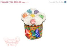 ON SALE: Rainbow Lollipop Arrangement, One of a kind, ready to ship, rainbow candy arrangement, rainbow, candy, lollipop, centerpiece, OOAK