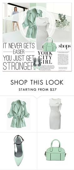 """""""Mentol Look"""" by lucky-1990 ❤ liked on Polyvore featuring Alexander Wang"""