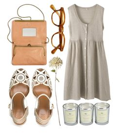 """wheat fields"" by animagus ❤ liked on Polyvore featuring Cochine Saigon, Tory Burch, Linea and Madewell"
