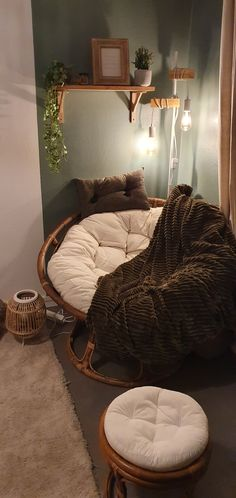 Boho Bedroom Decor, Room Ideas Bedroom, Living Room Decor, Relaxation Room, Aesthetic Room Decor, Vintage Room, Fashion Room, My New Room, Home Interior Design