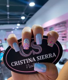 Glam Nails, Fancy Nails, Stiletto Nails, Square Acrylic Nails, Cute Acrylic Nails, Manicure Nail Designs, Gel Manicure, Short Nail Designs, Nail Art Designs