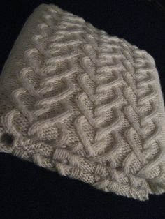 Levi's Baby Blanket, free knitting pattern. From knittikins.  Type-K, Type-A Knitting Obsession.