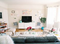 Julia Engel of Gal Meets Glam | Rue - My future living room!!!
