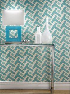 Wallpaper, Diseño de interiores, Diseño textil, Robinson Fabrics, Casa, Textura, Color, Diseño, Sala, Azul, Phillip Jeffries
