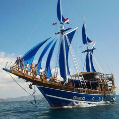 """""""Bring your sea adventure to new levels with ⛵🌊 Sailing Courses, Adventure Of The Seas, Old Boats, Sailing Adventures, Boat House, Tall Ships, Sailboats, Battleship, Hotels And Resorts"""
