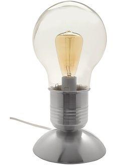 Lampa w nostalgicznym stylu w kształcie żarówki, z 3-stopniową dotykową…
