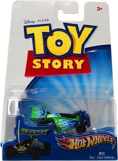 Black Friday 2014 Disney / Pixar Toy Story 3 Hot Wheels Die Cast Vehicle RC from Hot Wheels Cyber Monday Custom Hot Wheels, Hot Wheels Cars, Disney Toys, Disney Pixar, Sports Games For Kids, Miniature Cars, Matchbox Cars, Classic Toys, Toy Story