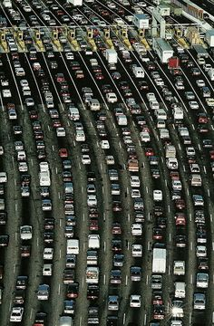 Cars waiting at a polling station National Geographic | October...