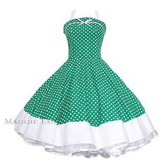 bb336b0df023 Maggie Tang 50s 60s V-neck Vintage Dancing Swing Jive Rockabilly Dress  Petticoat