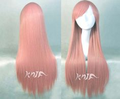 30 inches Pink japanese harajuku Guilty Crown anime wigs hair straight hair extension anime Cosplay wigs Hallowmas party gift Cosplay Wigs, Anime Cosplay, Japanese Harajuku, Anime Wigs, Straight Hairstyles, Hair Extensions, Kawaii, Trending Outfits, Pink