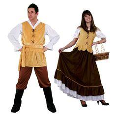 Costumes pour couples Hôteliers Médiévaux #déguisementscouples