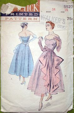 Butterick 5527 - extremely rare