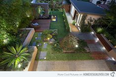 A modern or contemporary garden is characterized by a sleek, streamlined and sophisticated style. Modern garden designs draw on the simplicity of Asian design practices. Generally, a modern garden … Modern Landscape Design, Landscape Architecture Design, Modern Garden Design, Landscape Plans, Garden Landscape Design, Contemporary Landscape, Contemporary Gardens, Modern Gardens, Small Gardens