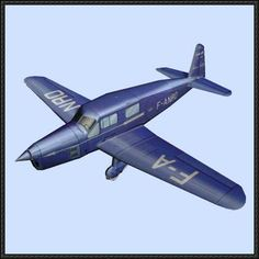 Caudron Simoun Free Aircraft Paper Model Download - http://www.papercraftsquare.com/caudron-simoun-free-aircraft-paper-model-download.html