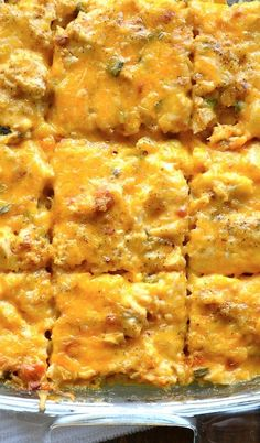 Loaded Cauliflower and Chicken Casserole