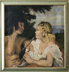 Le tre età dell'uomo, particolare - Tiziano Vecellio, by Paolo Albanese.