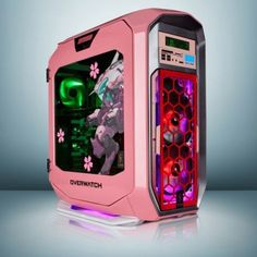 A beautiful mod on the character Overwatch D. Gamer Setup, Gaming Pcs, Gaming Room Setup, Pc Setup, Gaming Rooms, Computer Build, Computer Setup, Gaming Computer, Overwatch