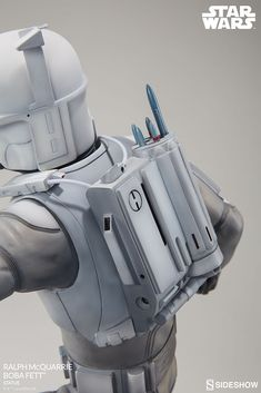 Star Wars Ralph McQuarrie Boba Fett Statue by Sideshow Colle Vader Star Wars, Star Wars Boba Fett, Star Wars Art, Lego Star Wars, Star Trek, Mandalorian Costume, Mandalorian Armor, Boba Fett Armor, Star Wars Outfits