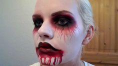 Halloween Makeup Tutorial / Dead infected woman / Mujer infectada con su...
