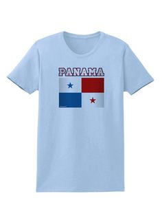 Panama Flag Womens T-Shirt
