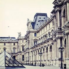 The Louvre.  It is such a magnificent place filled with wonderful art.  I am so blessed to have been able to see it.