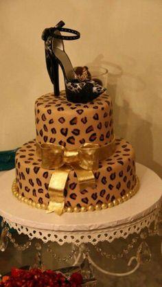 Leopard Print Sponge Cake Recipe